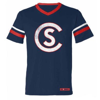 Cole Swindell CS Vintage Football T-Shirt