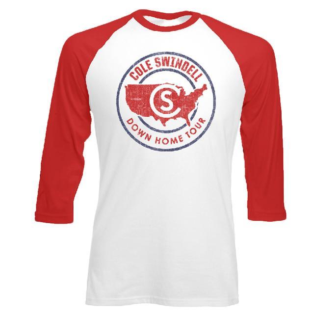Cole Swindell Down Home Baseball T-Shirt