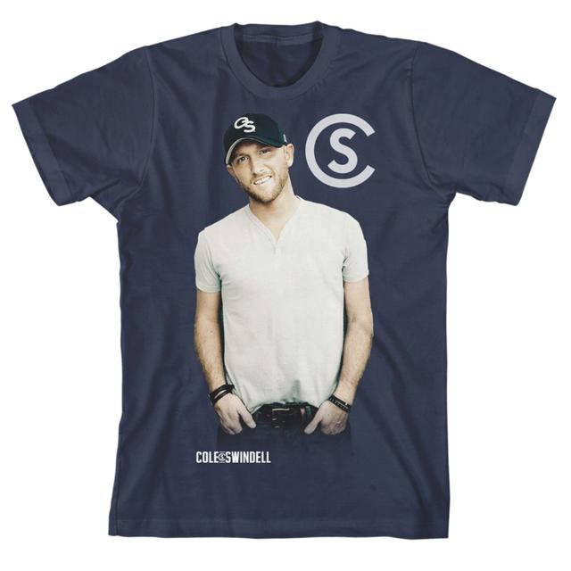 Cole Swindell Tin Wall Photo T-Shirt