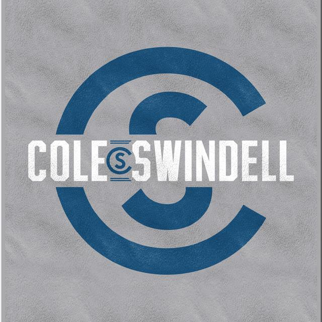 Cole Swindell Logo Sweatshirt Blanket