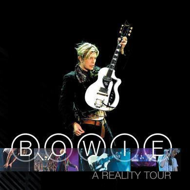 David Bowie A Reality Tour (180 Gram Audiophile Translucent Blue Vinyl/Limited Edition/3 LP Box Set)