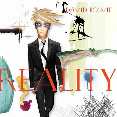 David Bowie Reality (180 Gram Translucent Clear Vinyl Version/Tri-Fold Cover)
