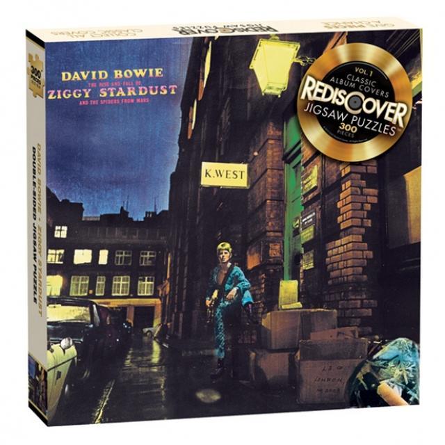 David Bowie Ziggy Stardust Jigsaw Puzzle