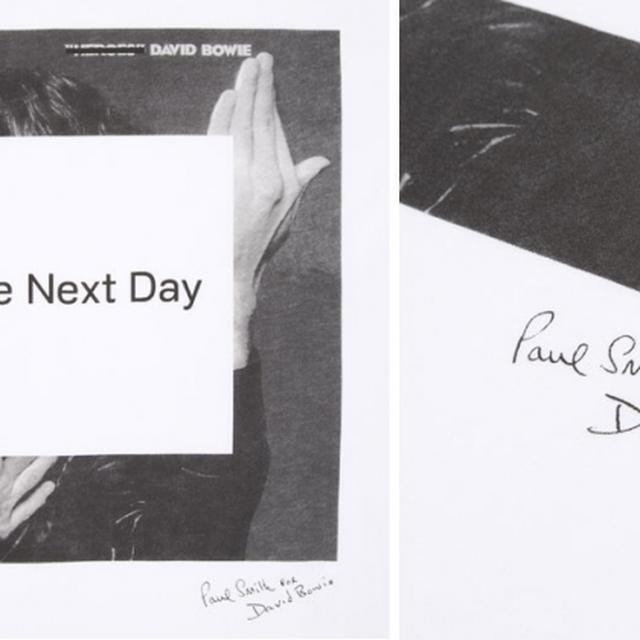 David Bowie The Next Day - T Shirt By Paul Smith