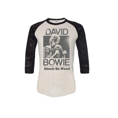 David Bowie Limited Edition Knock On Wood Raglan T-Shirt