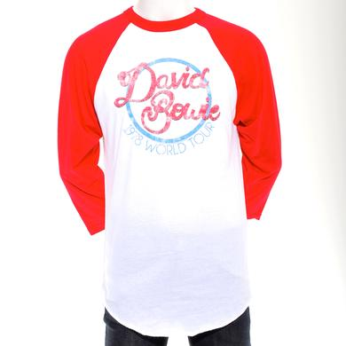 David Bowie 1978 World Tour Raglan