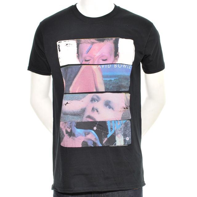 David Bowie Sliced Image 2 Men's T Shirt