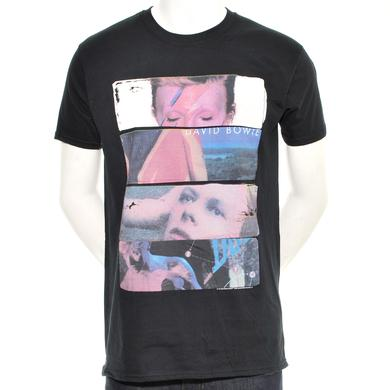 David Bowie Sliced Image 2 Men's T Shirt