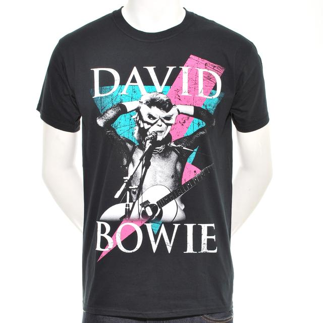 David Bowie Thunder Men's T-Shirt
