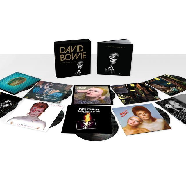 David Bowie [Five Years 1969-1973] - Vinyl Box Set