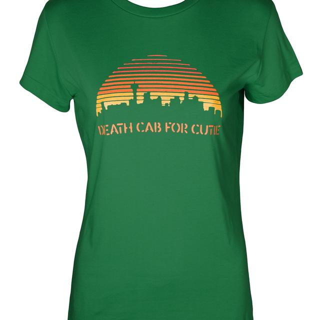 Death Cab For Cutie Seattle Juniors T-Shirt