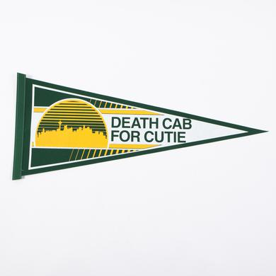 Death Cab For Cutie Sonic Pennant