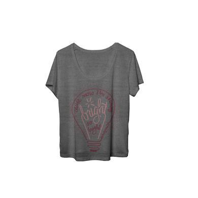 Echosmith Bright Bulb Flowy Boxy Women's T-Shirt