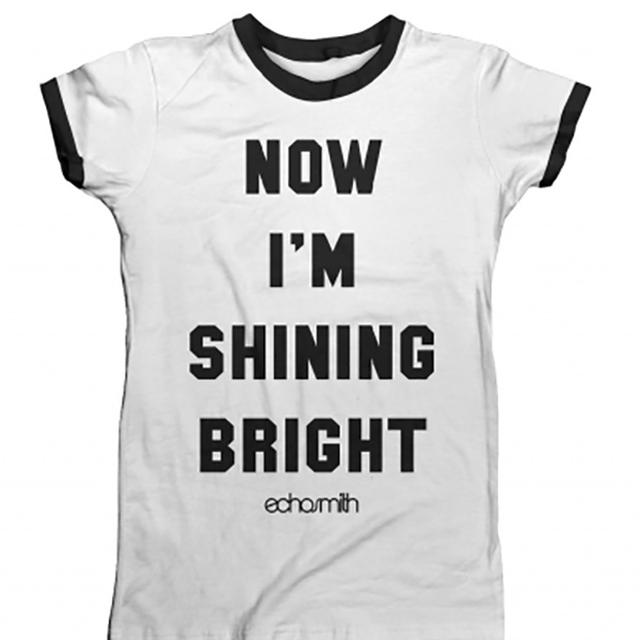 Echosmith Shining Bright Women's Ringer T-Shirt