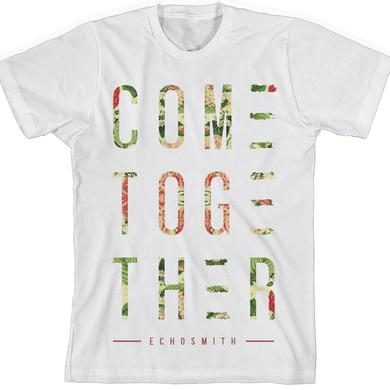Echosmith Come Together Floral T-Shirt