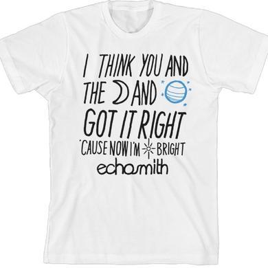 Echosmith Words T-Shirt