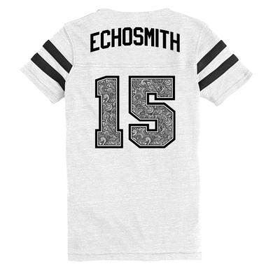 Echosmith Cool Kids Floral 15 Striped T-Shirt
