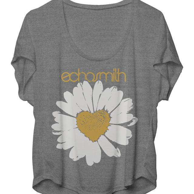 Echosmith Daisy Heart Flowy Fit Women's T-Shirt