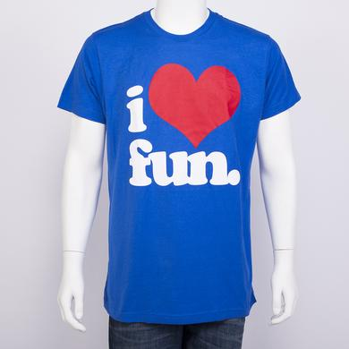 I Love Fun Slim T-Shirt