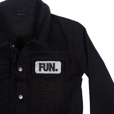 Fun. Work Wear Black Denim Jacket