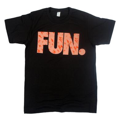 Fun. Shard Pattern Charcoal T-Shirt