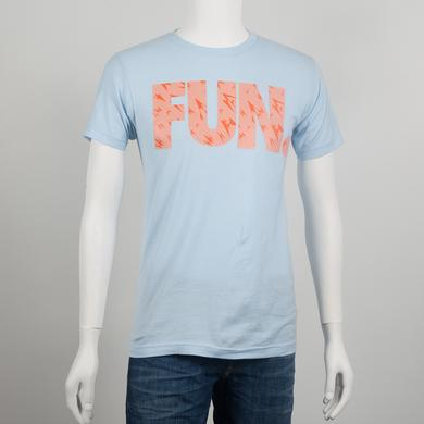 Fun. Shard Pattern Light Blue T-Shirt