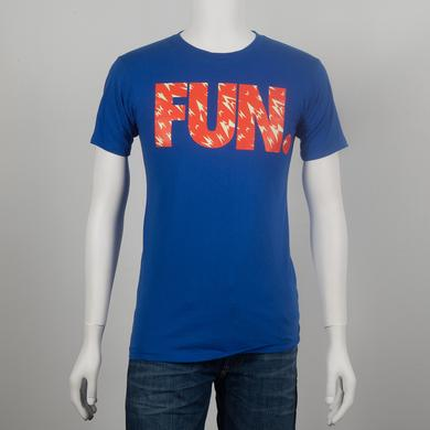 Fun. Shard Pattern Royal Blue T-Shirt