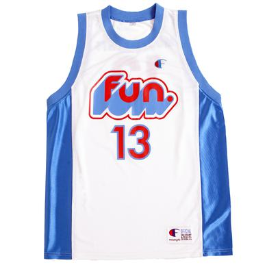 Fun. Most Nights Basketball Jersey
