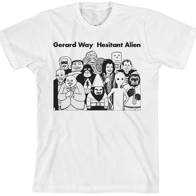 Gerard Way Gilberts Aliens Unisex T-Shirt