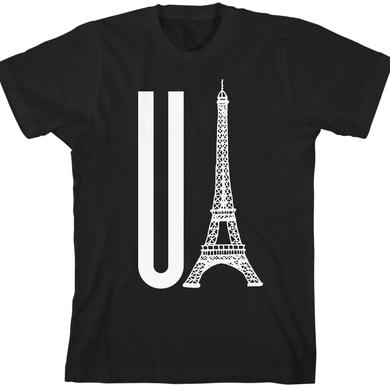 Gerard Way You Eiffel Black Unisex T-Shirt