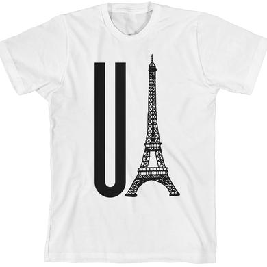 Gerard Way You Eiffel White Unisex T-Shirt