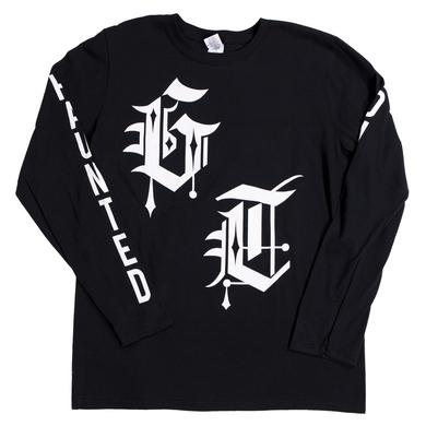 Ghost Town Old English Long Sleeve T-Shirt