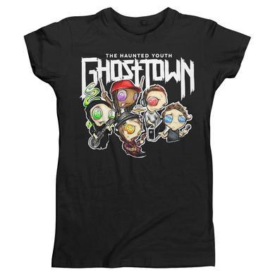 Ghost Town Cartoon Band Girls T-Shirt