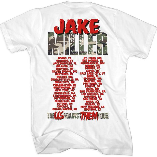 Jake Miller Us Against Them Tour T-Shirt