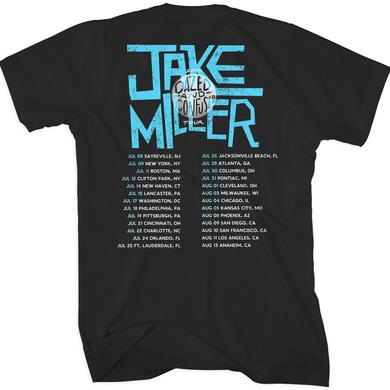 Jake Miller Beach Tour Back T-Shirt
