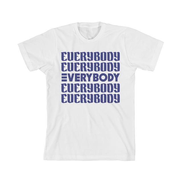 Logic Everybody Repeating Stack Slim Fit T-Shirt