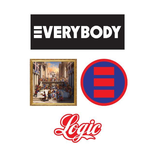 Logic Everybody Sticker Pack