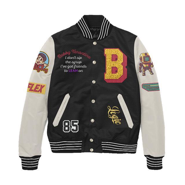 Logic Bobby Tarantino Letterman Jacket