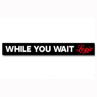 Logic While You Wait Wristband