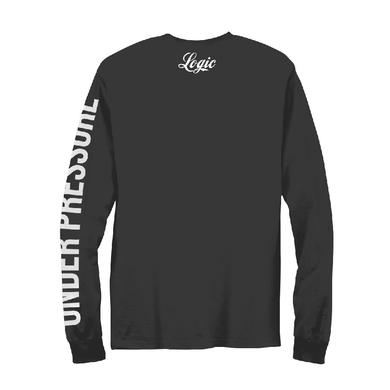 Logic Painted Bust Long Sleeve T-Shirt