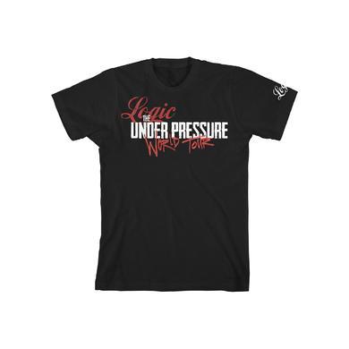 Logic Under Pressure Unisex Tour T-shirt 2015