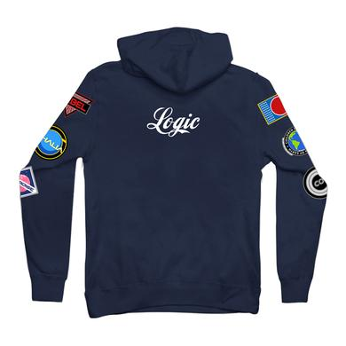 Logic Space Patches Pullover Hoodie