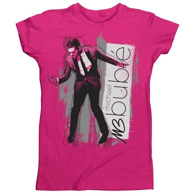 Michael Buble Fun Portrait Women's T-Shirt