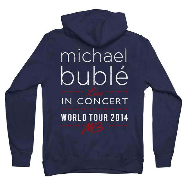 Michael Buble 2014 USA Concert Hoodie