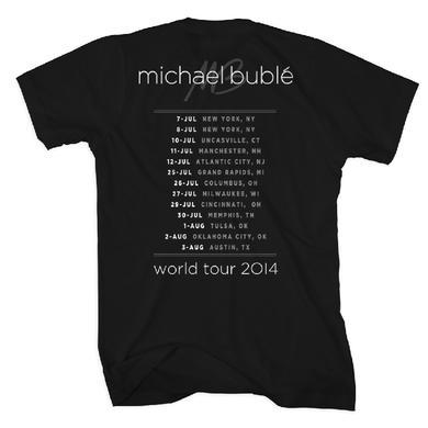 Michael Buble On The Mic 2014 Tour T-Shirt Unisex