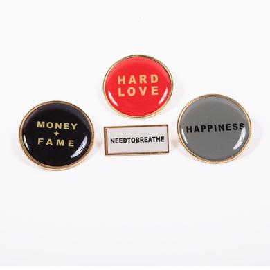 Needtobreathe Brass Pin Set