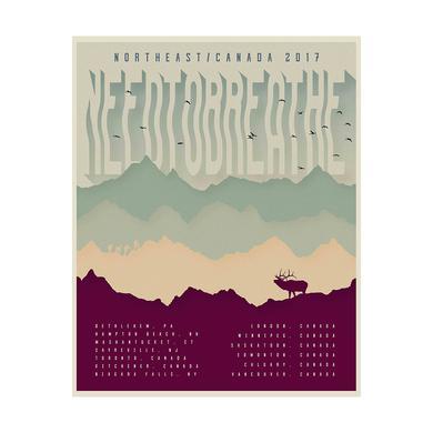 Needtobreathe Mountain Air Poster
