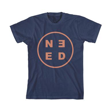 Needtobreathe NEED Circle T-Shirt (Blue)