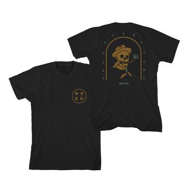 Needtobreathe Rose Skull T-Shirt