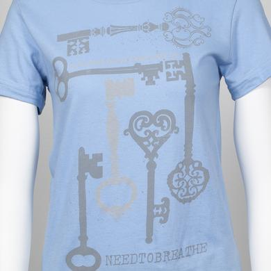 Needtobreathe Ornate Keys Juniors T-Shirt